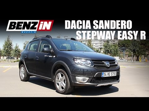 dacia sandero stepway easy r otomatik test s r benzin. Black Bedroom Furniture Sets. Home Design Ideas