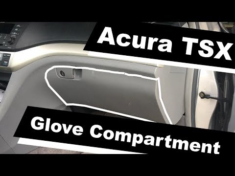How To Remove Glove Compartment Box On 2005 Acura TSX?