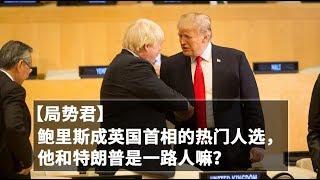 【局势君】鲍里斯成英国首相的热门人选,他和特朗普是一路人嘛?