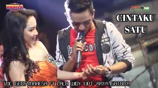 Download lagu CINTAKU SATU - GERY MAHESA FT LALA WIDY - NEW VANILA - MITRA AUDIO