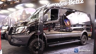 2016 Mercedes-Benz Sprinter BlueTEC 4x4 - Exterior and Interior Walkaround - 2016 Montreal Auto Show(Welcome to SuperCarTube! The Super fuel for car lovers. Join us in our daily series of videos from the biggest Auto Shows in Europe, USA and Canada, ..., 2016-03-07T14:30:01.000Z)