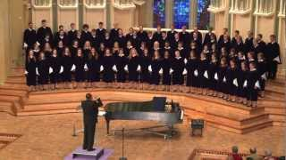 "St. Olaf Choir - ""The Homecoming (In Memoriam Martin Luther King, Jr.)"""