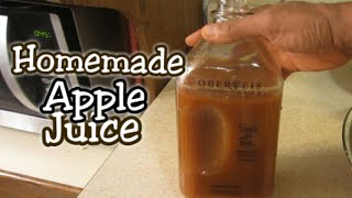 Gambar cover How To Make Homemade Apple Juice