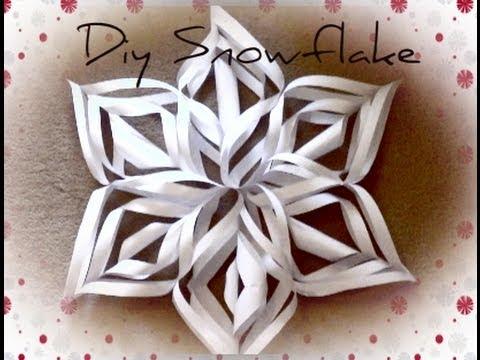 Diy Christmas Decorations Christmas Snowflake Haley