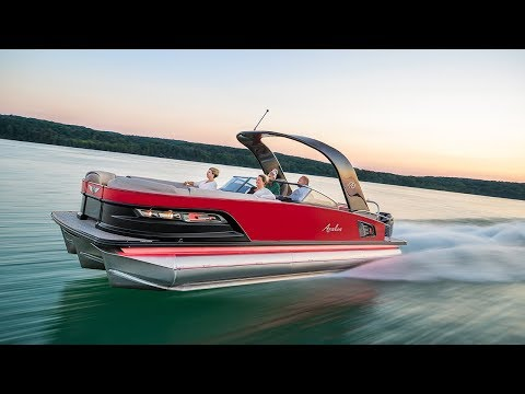 2018 Pontoon Boat HIGH-PERFORMANCE PACKAGES | Avalon Luxury Pontoons