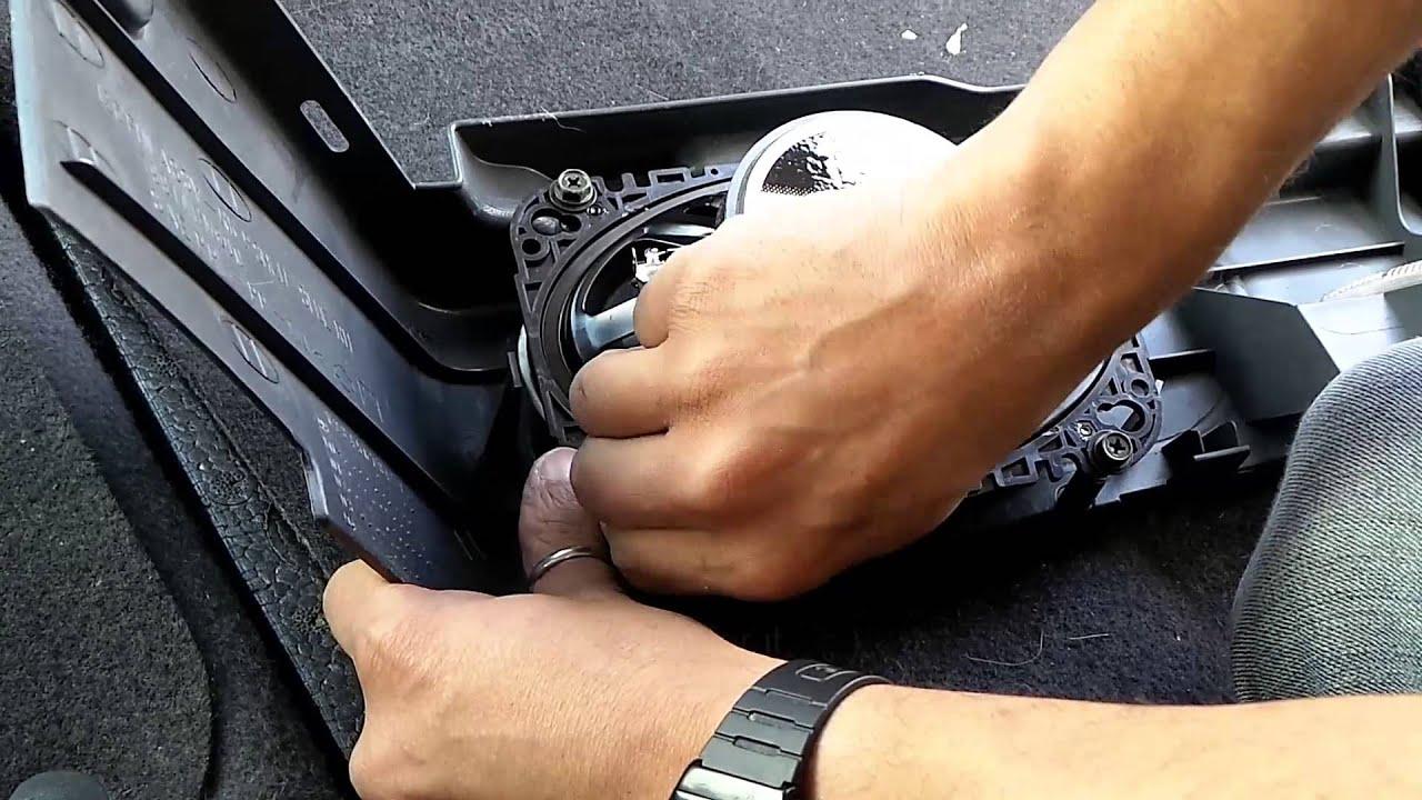 Nissan Almera N16 Rear Speaker Install Guide YouTube