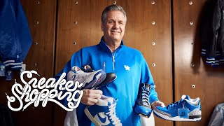 Coach Calipari Goes Sneaker Shopping With Complex