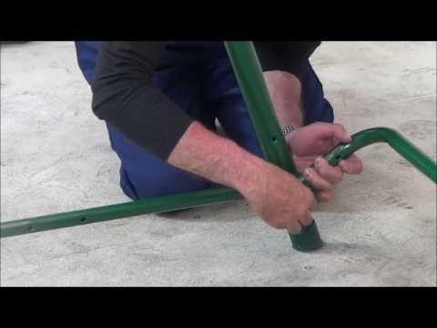 Reti gritti s p a montaggio dondolo swing assembling for Montaggio dondolo