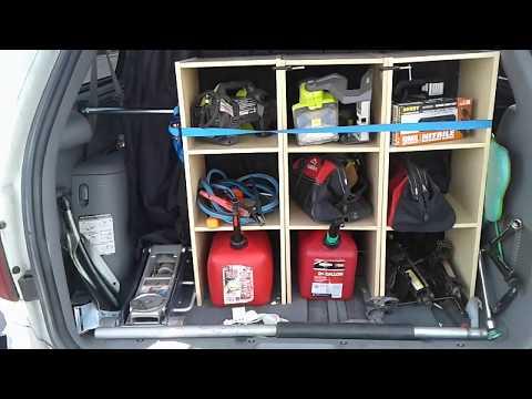 Roadside Assistance/Stealth Camper Dodge Caravan Set Up