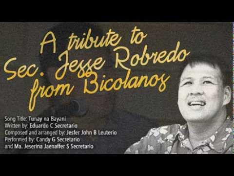 A Tribute to Sec. Jesse Robredo from Bicolanos