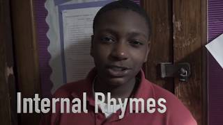 Harlem Kids give examples of Internal Rhyme