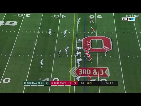 Mike Weber 47-YD TD Run vs. Michigan State