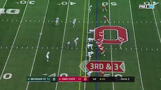 Mike Weber 47-YD TD Run vs. Michigan State