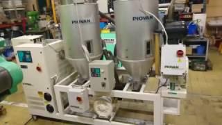 Piovan dryer DSN508ME+2xT150IX+2xC10IX