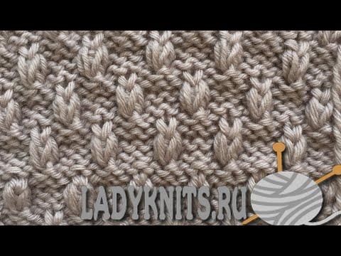 "Интересный узор спицами ""Совушки""/Knitting Stitch Owls"