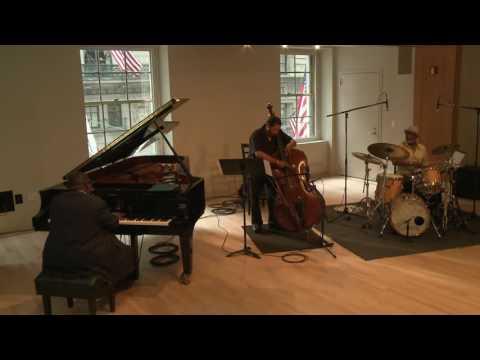 Cyrus Chestnut Trio at WBGO's Yamaha Piano Salon
