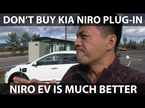 Kia Niro plug-in hybrid test