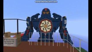 Minecraft Pacific Rim Gipsy Danger - Майнкрафт - Тихоокеанский Рубеж - Бродяга