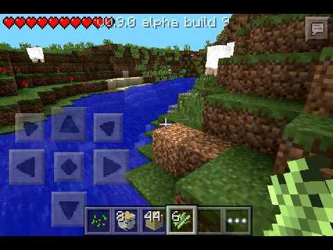 Minecraft pe ep 1 bioma della pianura!!!!