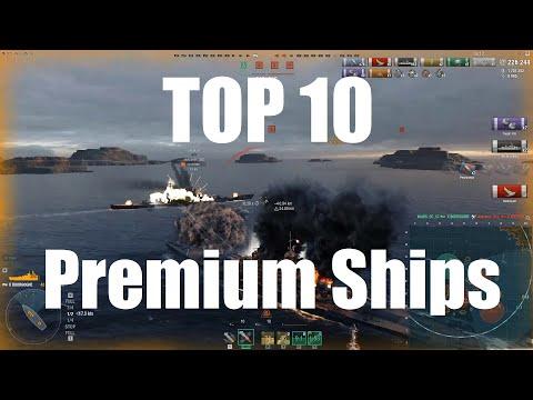 Top 10 Premium Ships January 2020