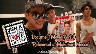 """JUN. K (2PM) Love Letter solo tour Document Movie part 4 """"Re…"""