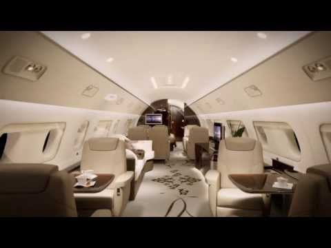 Embraer Executive Jets' Lineage 1000E Virtual Tour