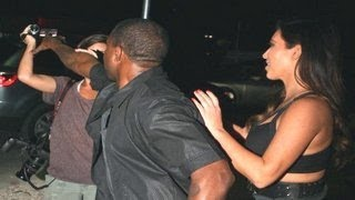 Kanye West Fight With Paparazzi - 2013 Compilation