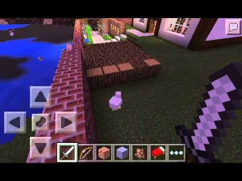 Casa en minecraft pe casa moderna youtube for Casa moderna en minecraft pe 0 16 0