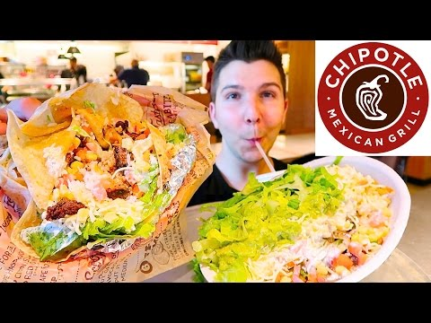 Chipotle Mexican Grill • MUKBANG