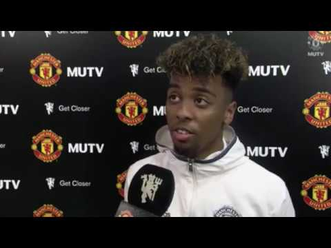 ANGEL GOMES INTERVIEW  HONOURED TO MAKE UNITED DEBUT AT 16 AFTER 2-0 WIN VS CRYSTAL PALACE