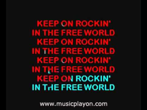 Neil  Young   Rockin' In The Free World 1989 MusicPlayOn com