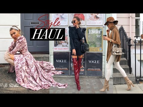 HAUL & TRY ON // ZARA, ME + EM, H&M // September 2019