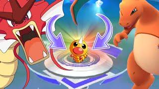 Pokemon Go - en DÜŞÜK CP Pokemon Troll SPOR salonu Savaş Oyun Git Pokemon!
