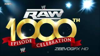 2012 WWE Raw 1000th Episode Theme Song   STERD + Download Link
