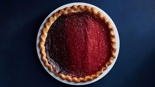 Striped Berry Pie | NYT Cooking