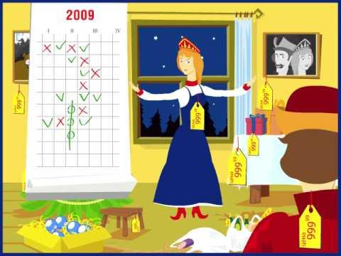 видео: ВТБ24 - 2008 - Новогодняя открытка