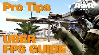 ARMA 3: FPS increase guide  - pro tips - boost your FPS.