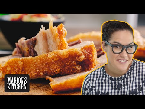 How to: Ultimate Crispy Pork Crackling - Marion's Kitchen