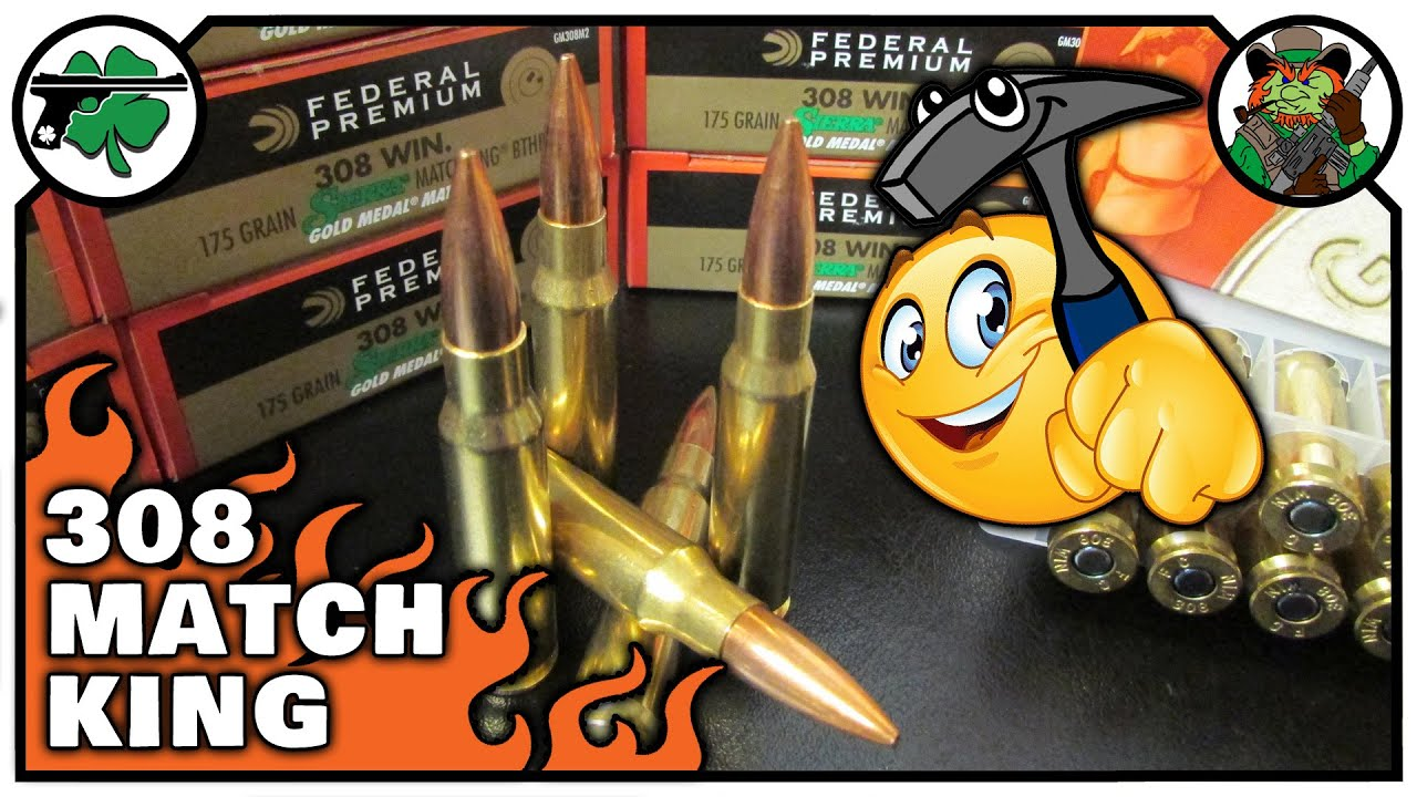 308 Winchester 168 Grain Federal Gold Medal Match Deconstruction