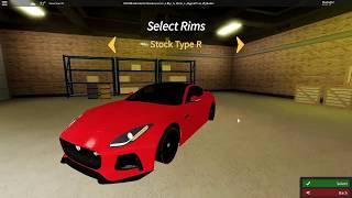Obtenir la Jaguar F Type SVR (fr) Ultimate Driving: Westover Islands ( Roblox