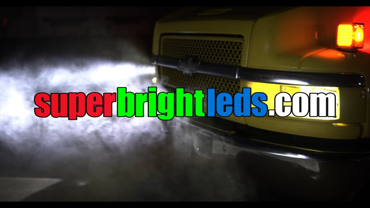 Led Conversion Series Chevy C5500 Rollback Car Carrier Youtube Gmc C4500 Headlight Wiring
