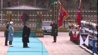Rusya Devlet Başkanı Putin Cumhurbaşkanlığı Sarayı'nda