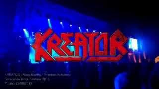 Kreator - Mars Mantra / Phantom Antichrist (Cieszanów Rock Festiwal 2015)