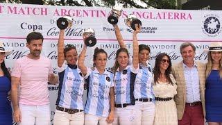 Argentine woman scores in macho polo world