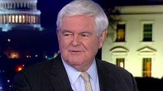 Gingrich: Trump divide getting wider, Left is crazier