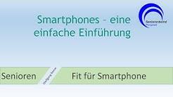 Smartphones - eine einfache Einführung