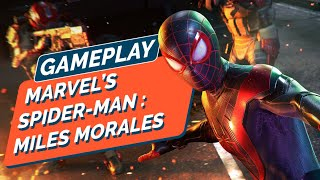 MARVEL'S SPIDER-MAN : MILES MORALES - Séance d'infiltration façon super-héros - GAMEPLAY 4