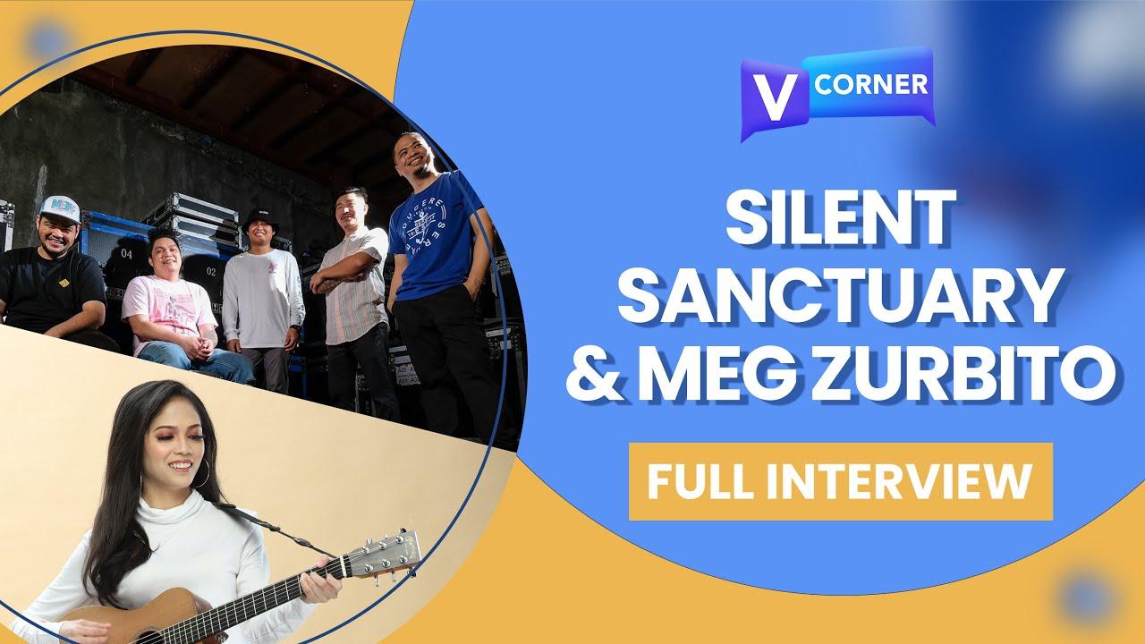 Silent Sanctuary and Meg Zurbito (Full Interview) #VCorner