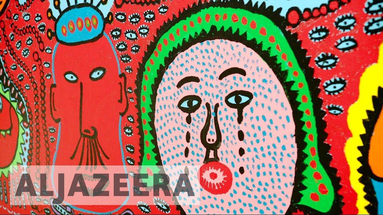 Japan: 'Queen of polka dots' museum opens