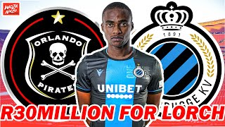 Gambar cover PSL Transfer News|Orlando Pirates Reject 30 Million Rand Bid From Club Brugge For Thembinkosi Lorch|